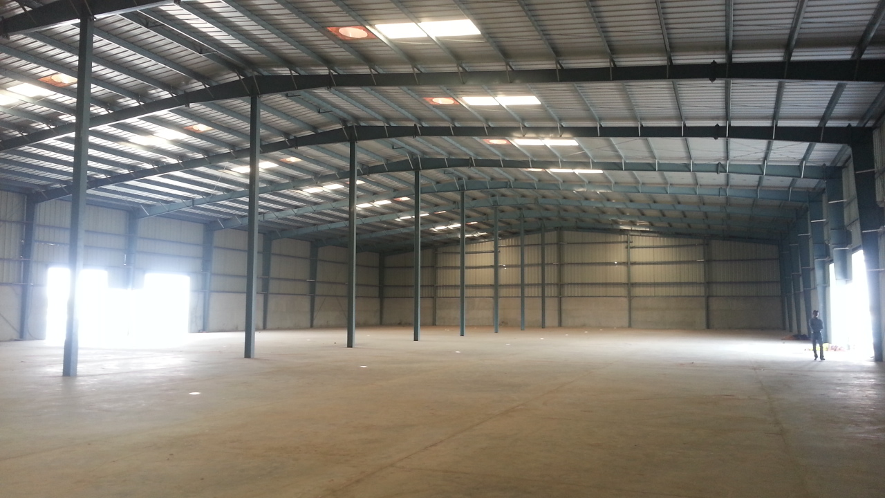 INDUSTRIAL SHED  TO LET | FOR RENT ON PRIME LOCATION AT BECHARAJI , VITHALAPUR , MEHSANA – 9825249510