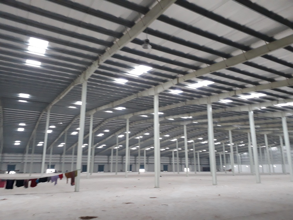 60000 SQ.FT INDUSTRIAL SHED | FACTORY FOR LEASE IN VITHALAPUR MEHSANA – 9825249510