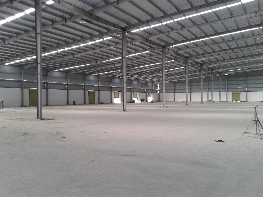 INDUSTRIAL SHED FOR RENT | LEASE  NEAR MARUTI PLANT AT BECHARAJI , MAHESANA – 9825249510